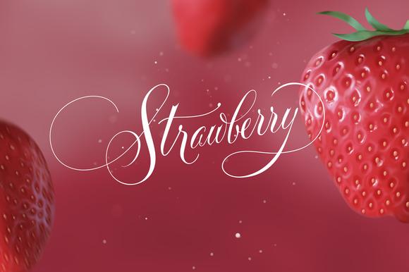 Fresh Strawberry PSD
