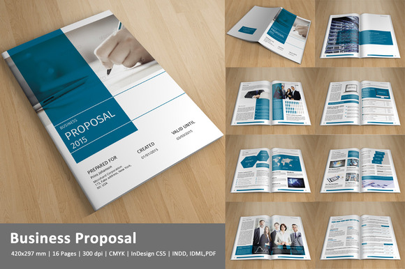 Corporate Brochure InDesign