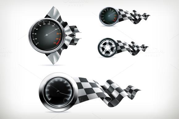 Racing Vector Emblems