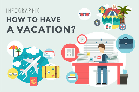 Vacation Summer Travel Infographic