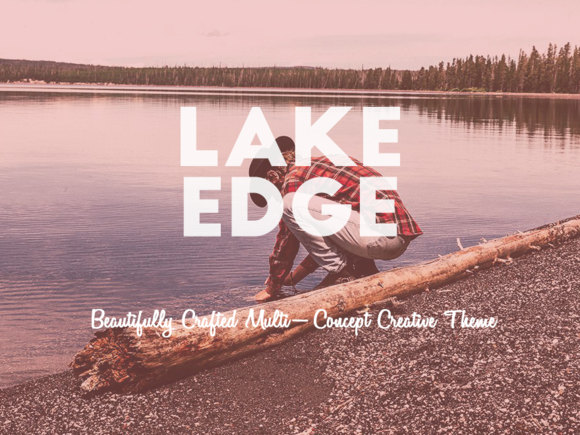 LAKE EDGE Creative Vintage Theme