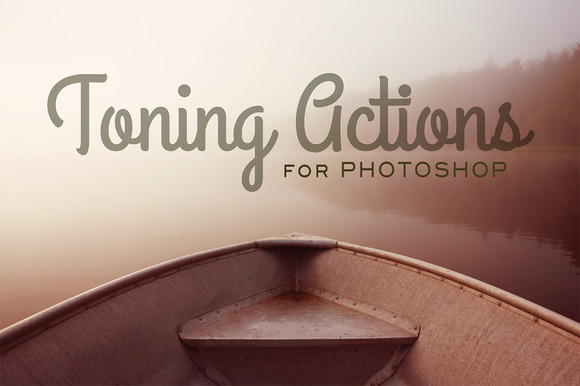 Toning Photoshop Actions