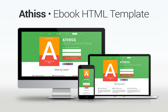 Athiss Ebook HTML Template