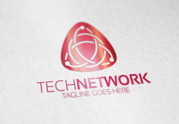 Tech Network Logo