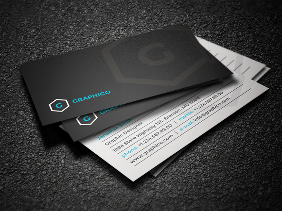 Simple Stylish Business Card 32