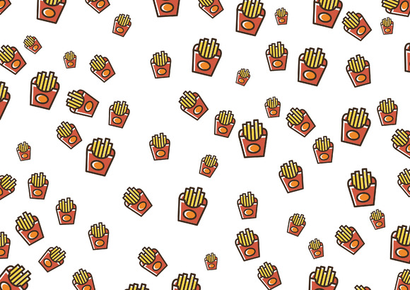 French Fried Patterns Pack
