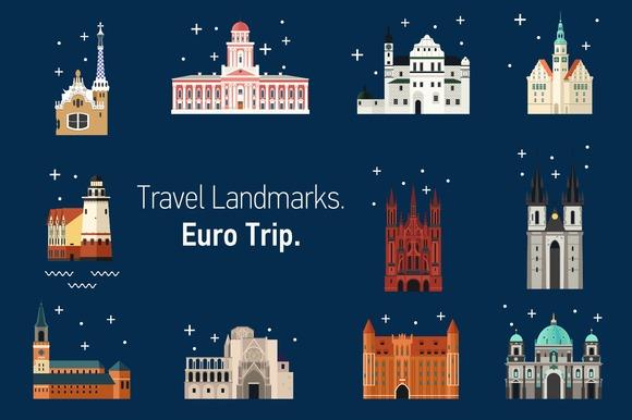 Travel Landmarks Euro Trip