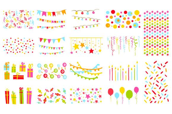Design Elements Birthday Party
