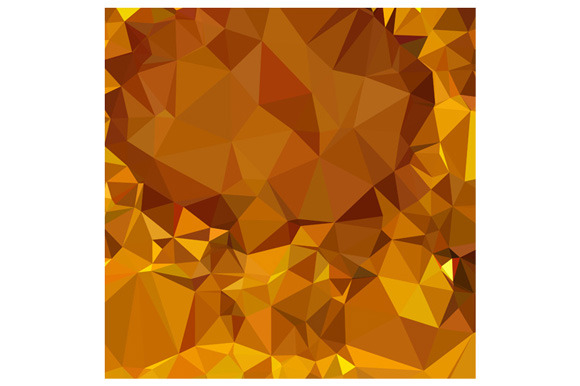 Dark Tangerine Yellow Abstract Low P