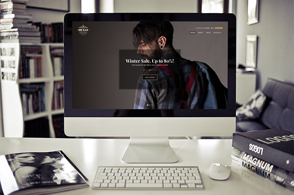 Hugo ECommerce Theme For WordPress