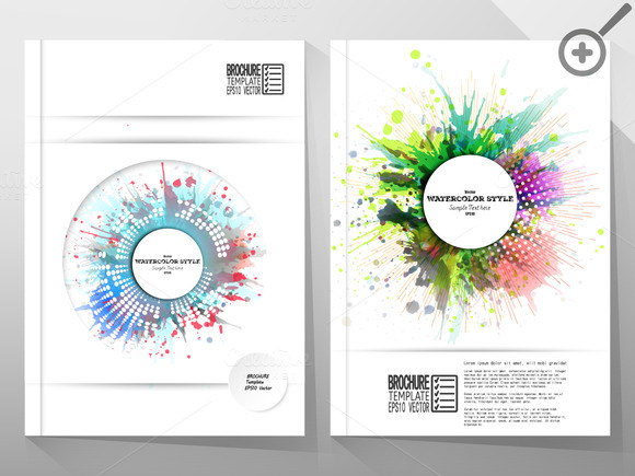 Vector Templates For Brochure