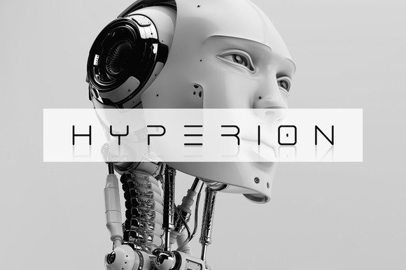 Hyperion Typeface
