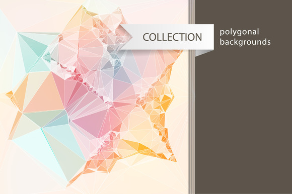 10 Polygonal Backgrounds