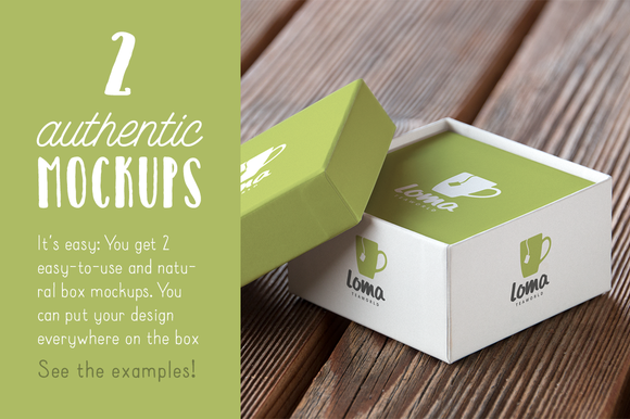 Authentic Box Mockup Vol 01