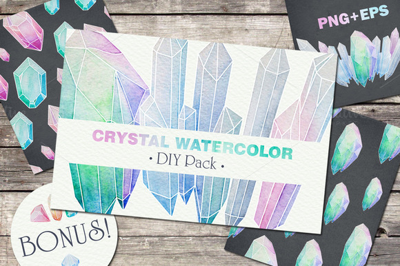 Crystal Watercolor