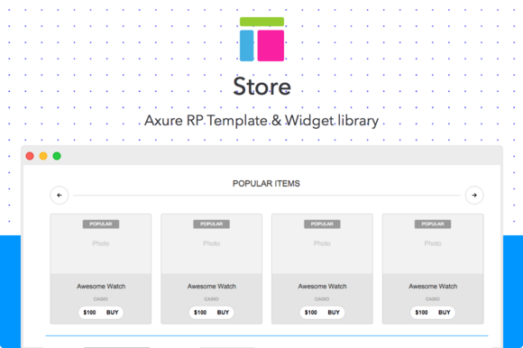 Axure Template Store