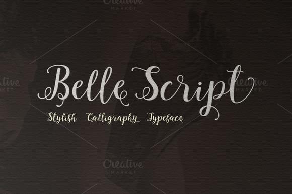 Belle Script Typeface