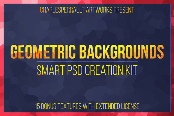Geometric Backgrounds Creation Kit