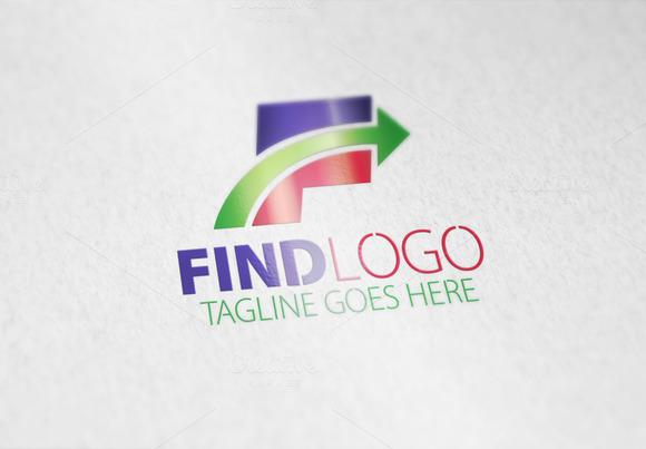 Find F Letter Logo