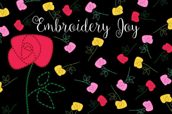 Embroidery Stitches Motifs