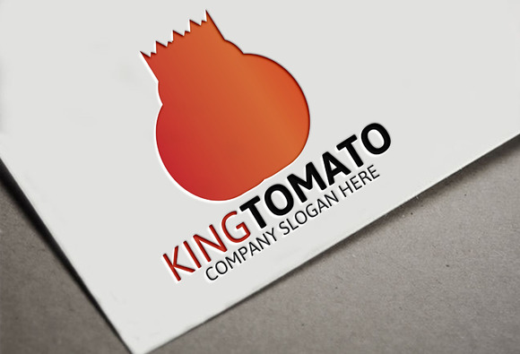 Tomato King Logo