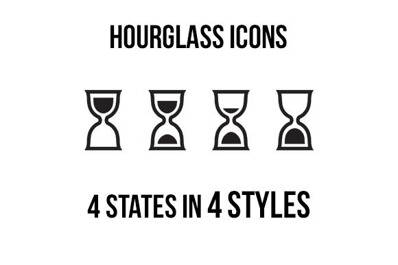 Hourglass Icons