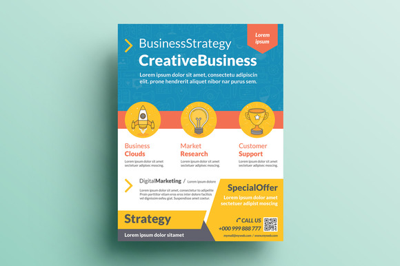 Creative Corporate Flyer V20