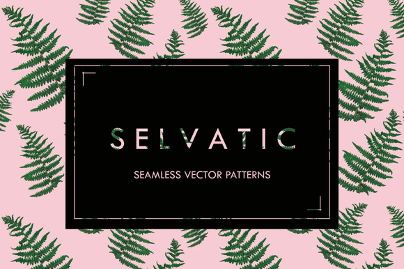 Selvatic Seamless Vector Patterns