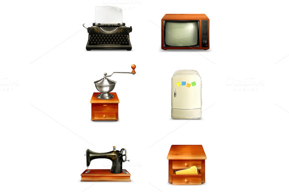 Antique Furniture And Home Appliance