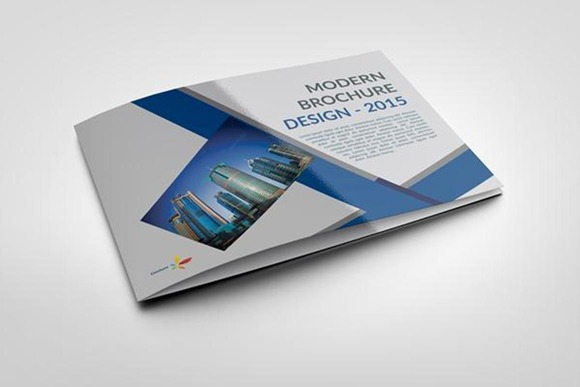 Brochure In InDesign And Photoshop