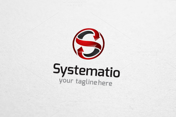 Systemation S Letter Logo