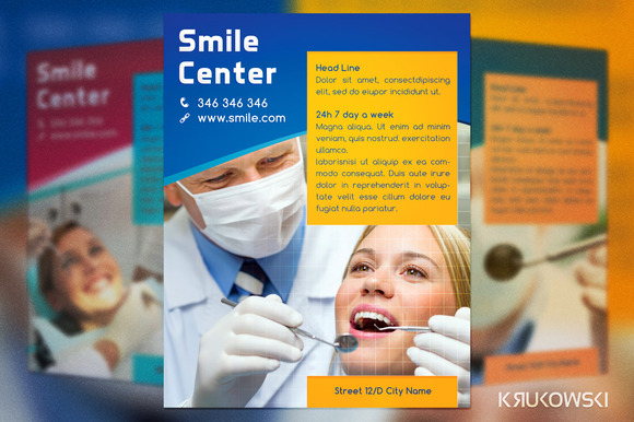 Smile Center Dental Flyer