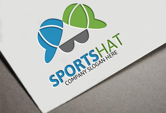 Sports Hat Logo