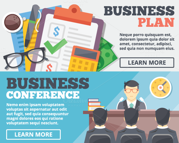 Business Plan Conference Concept