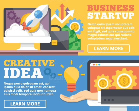 Business Startup Creative Idea