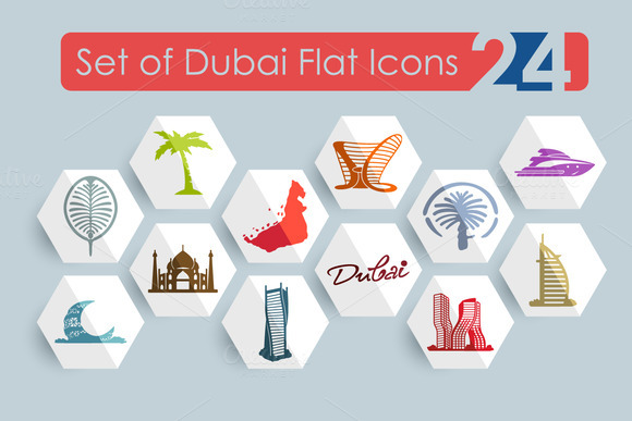 24 Dubai Icons