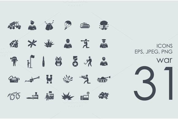 31 War Icons