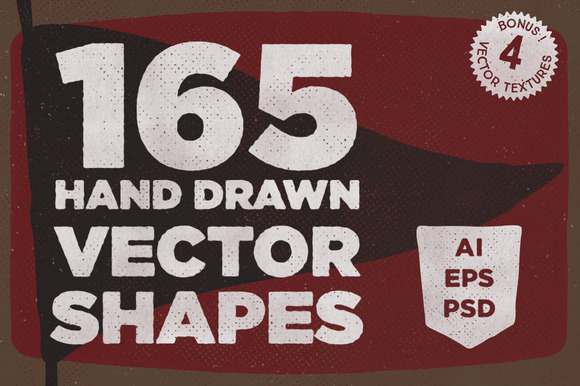 165 Vector Shapes Bonus