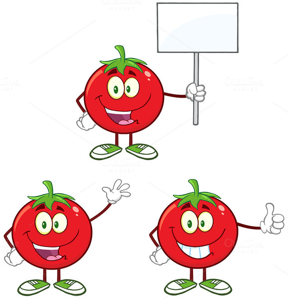 Red Tomato Character Collection 4