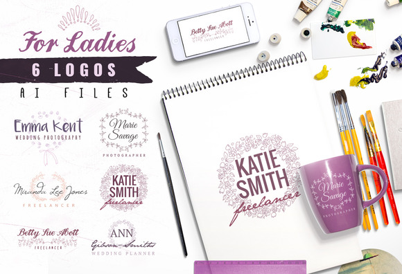 6 Logos For Ladies