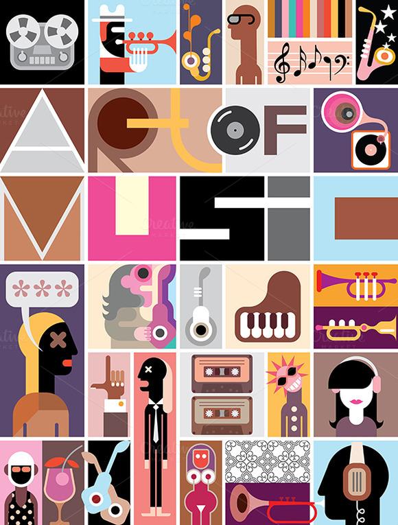 Art Of Music Poster
