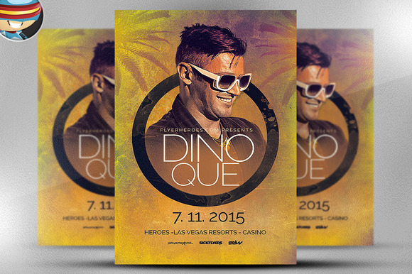 Summer House Flyer Template 2