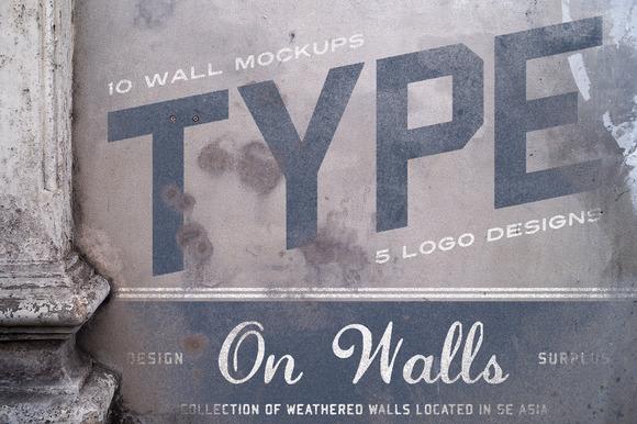 Type On Walls