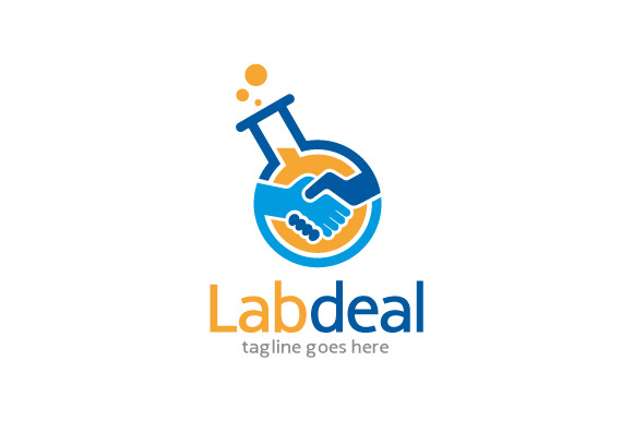 Lab Deal Logo Template