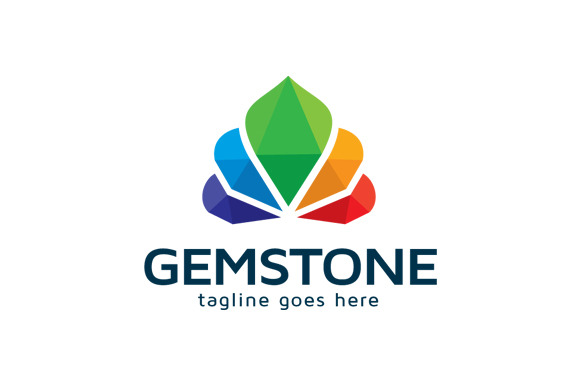 Gemstone Color Logo Template