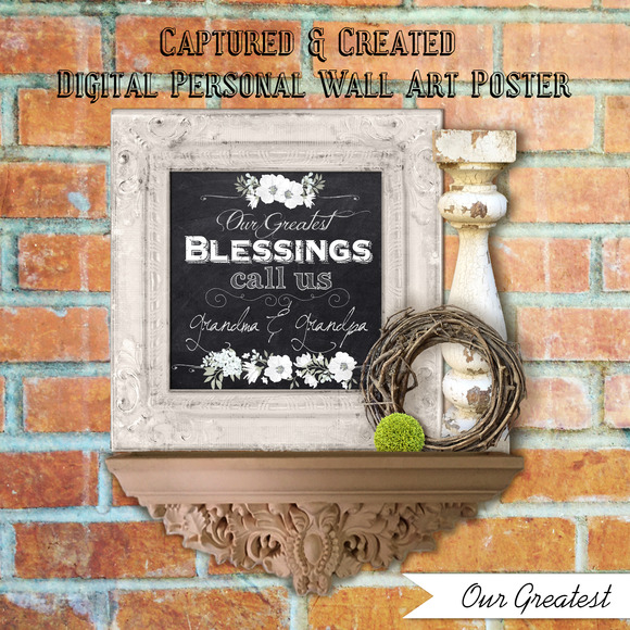 Our Greatest BlessingWall Art Poster