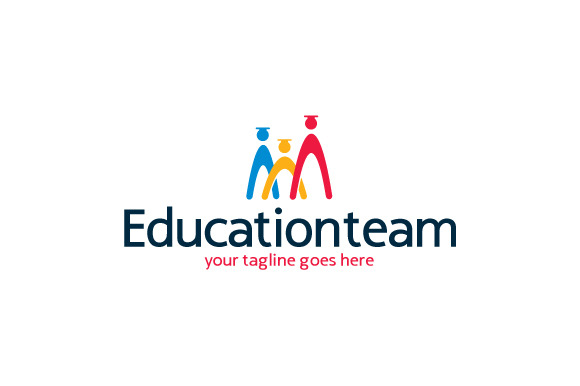 Education Team Logo Template