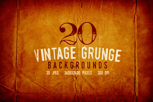 20 Vintage Subtle Grunge Backgrounds