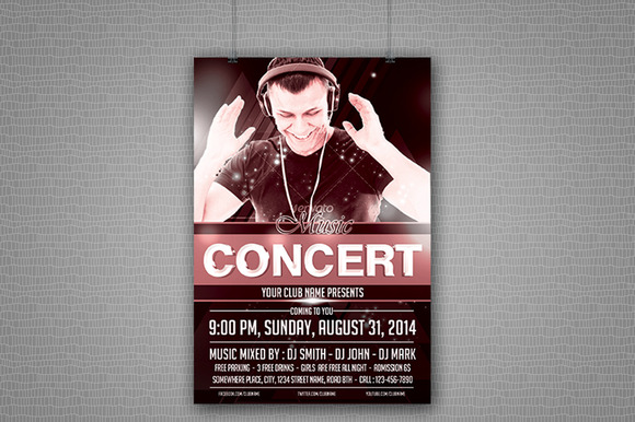 Music Concert Party Flyer