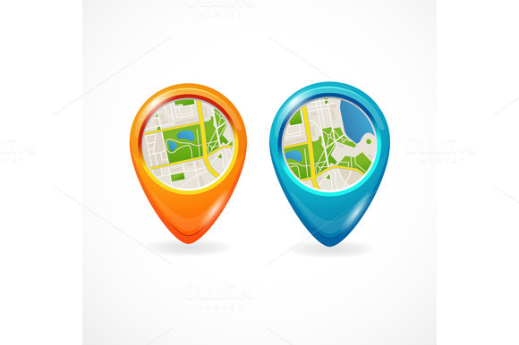 Vector Pin Gps Set
